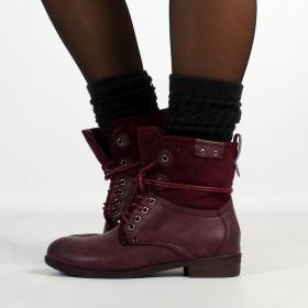 "Bottines Shoes \""Matangi\"", Bordeaux"