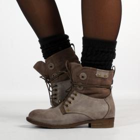 """Bottines Shoes \""""Matangi\"""", Gris"""