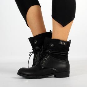 "Bottines Shoes \""Matangi\"", Noir"