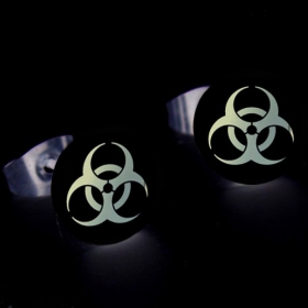 Boucle d'oreille phosphorescente