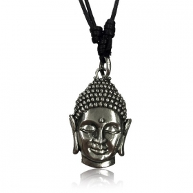 """Bouddha Pali\"" brass necklace"