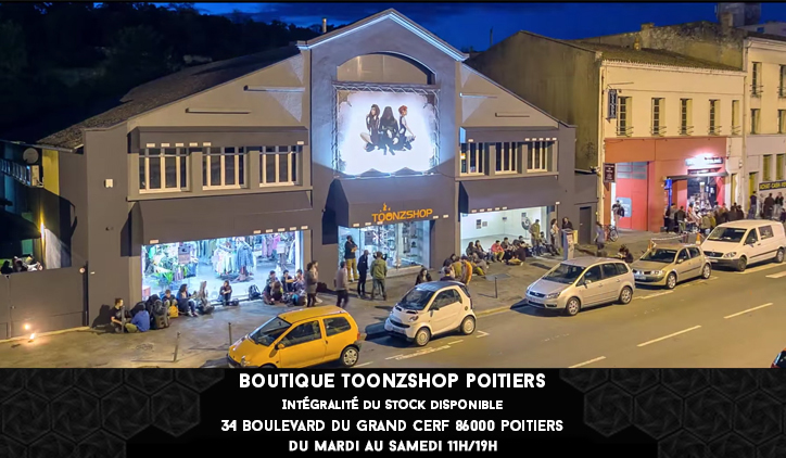 Boutique Toonzshop Poitiers