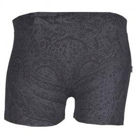 """Boxer \""""henna underwear\"""" noir"""