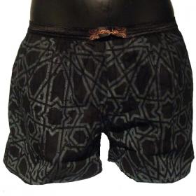 Boxer short by psylo black-arabesque