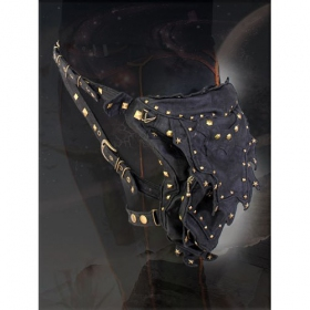 "Ceinture high clothing ""abracadabra\"", noir"