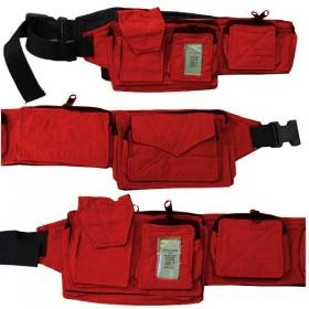 ceinture poche rouge taille unique femme accessoires ceinture ceinture poches. Black Bedroom Furniture Sets. Home Design Ideas