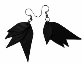 "Earing tire tube ""sapu mimi"", black"