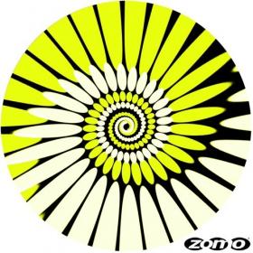 Feutrine zomo paint gelb
