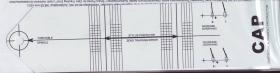 Gabarit gradue pour regl parallel diam/sillon