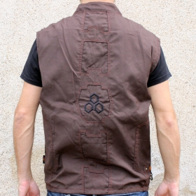 """Indian project """"rider hexagon"""", brown"""