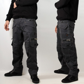 "Indian project pants ""kontaktt\"", anthracite"
