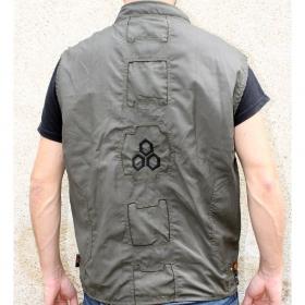"Indian project vest ""rider hexa"", kaki"