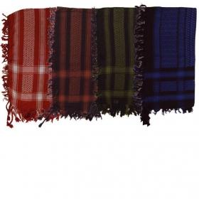 Keffieh coton, plusieurs coloris