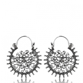 """Laksha\"" Silver earrings"