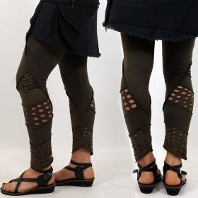 """Legging \""""shaurya\"""", kaki"""