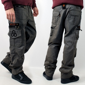"""Pantalon Indian Project \""""Vector\"""", Pixel Gris"""