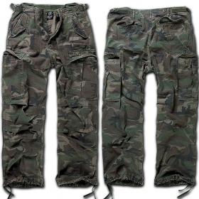 "Pantalon treillis Surplus \""Cargo M65 Vintage\"", Camouflage"