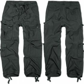 "Pantalon treillis Surplus \""Cargo Pure\"", Anthracite"