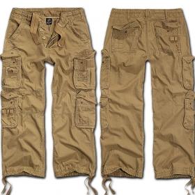 "Pantalon treillis surplus \""cargo pure\"", beige"