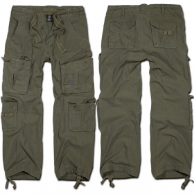 "Pantalon treillis Surplus \""Cargo Pure\"", Kaki"