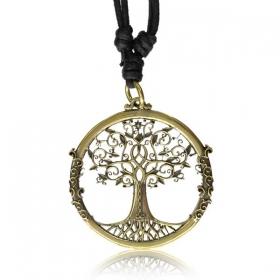 "Pendentif en laiton \""Tree of life\"""