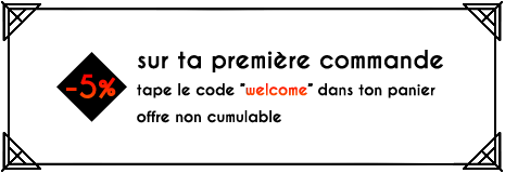 Promo welcome 5%