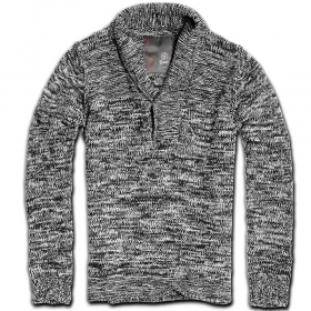 "Pull surplus ""foster mountain\"", gris chiné"