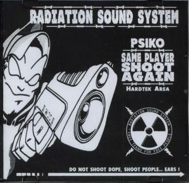 Radiation cd same player shoot again