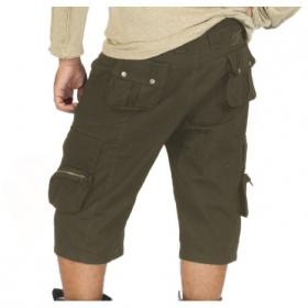 Reborn long shorts, kaki