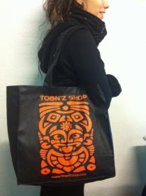 "Sac cadeau \""toonzshop orange\"""