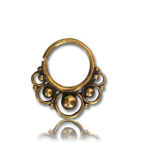 septum en laiton samixya bijoux piercings piercing nez. Black Bedroom Furniture Sets. Home Design Ideas