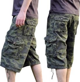 "Short ""bayok"", kaki camouflage"