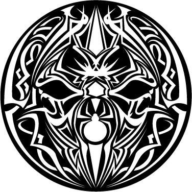 Slipmats spider tribal
