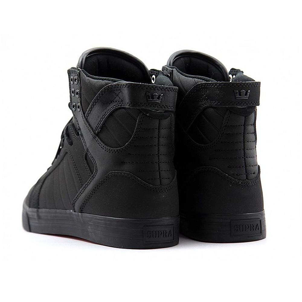 supra skytop noir taille 39 6 5 us homme chaussures. Black Bedroom Furniture Sets. Home Design Ideas