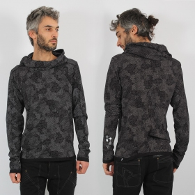 "Sweat fin ""Camoline\"", Noir"