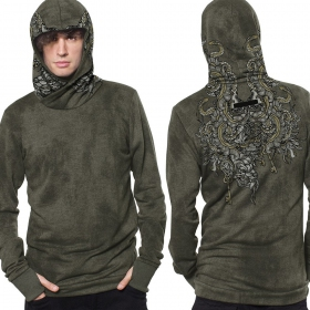 Sweat léger \'\'Axis\'\', Olive industriel