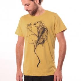 T-shirt \'\'Panda\'\', Jaune