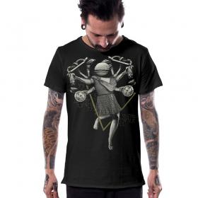T-shirt \'\'Willendorf\'\', Gris foncé
