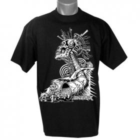 """T-shirt \""""free access\"""", noir"""