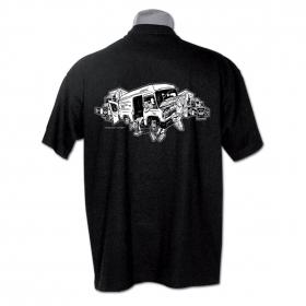 """T-shirt \""""player kamtar\"""", noir"""