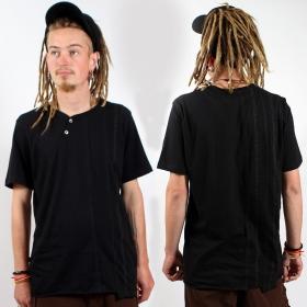 """T-shirt  psylo \""""serial tee\"""",  noir"""