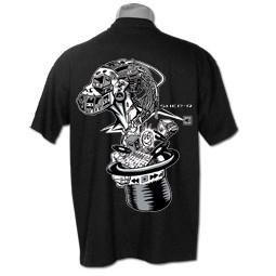 """T-shirt \""""usb\"""", noir"""