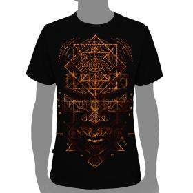 "T-shirt plazmalab \""emet\"", noir"