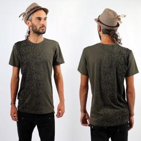 """T-shirt Psylo \""""Kyoto\"""", Gris charbon"""