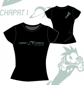 "T-shirt toonzshop \""chapati express\"""