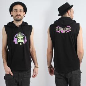 "Tee Shirt Shaman \""DJ Buddha\"", Noir"