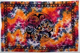 Tenture \'\'Celtic Fluo\'\', Multicolore