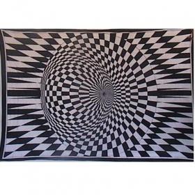 """Tenture \""""vision\"""" 1,40 x 2,20 m"""