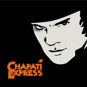 "Tenture/b�che ""chapati express - orange m�canique"""