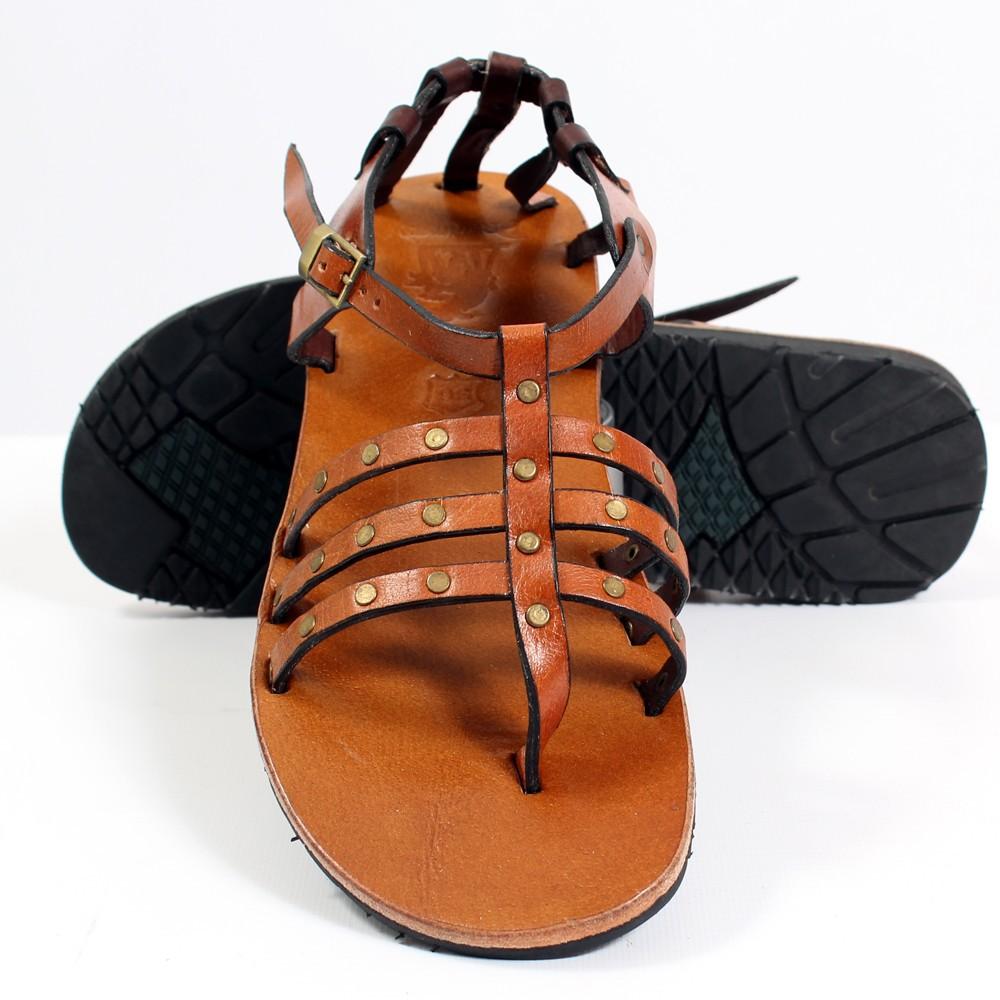 tong en cuir niyati camel taille 36 femme chaussures sandales bottes. Black Bedroom Furniture Sets. Home Design Ideas